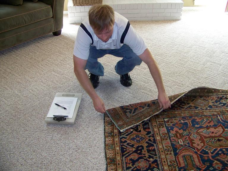 rug inspection